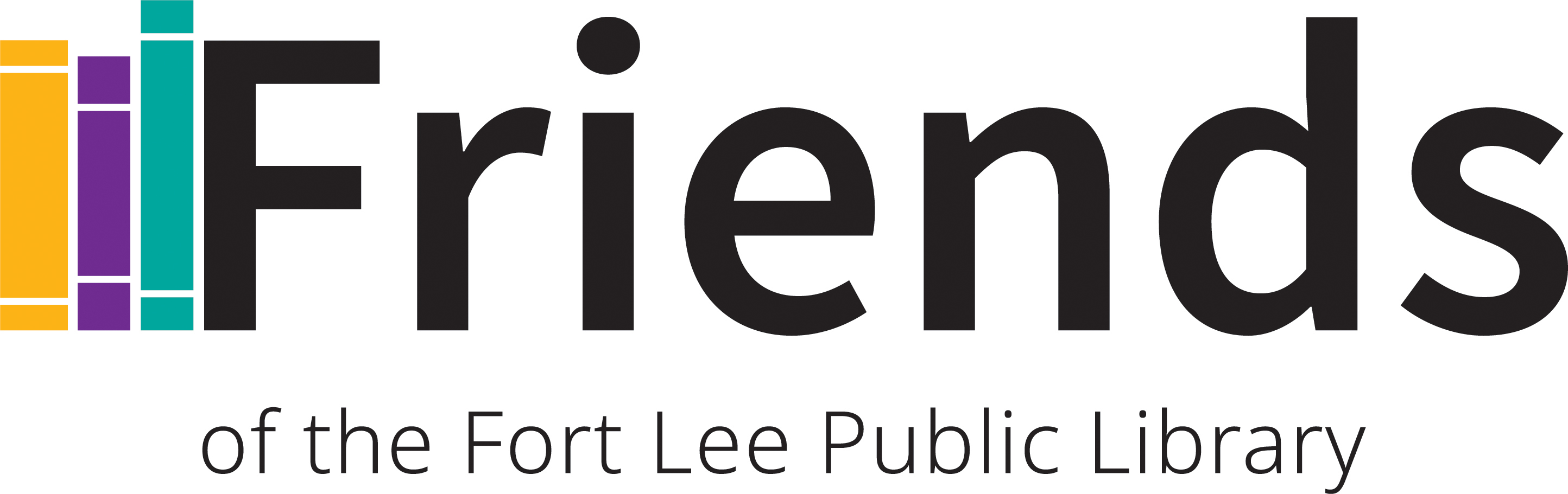 Friends of the Fort Lee Public Library logo